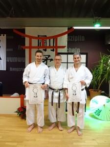 Neuer Schwarzgurt in der Goju-Ryu Karategruppe des Polizeisportvereins