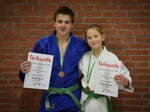 Annika Krause und Mischa Engel qualifizierten sich für die Norddeutschen Meisterschaften
