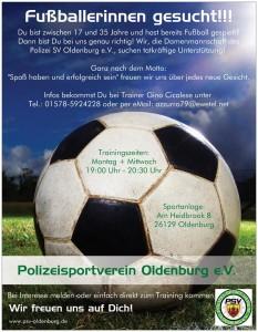 Fußballerinnen gesucht!!!
