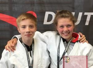 Deutsche Schülermeisterschaften im Ju-Jutsu