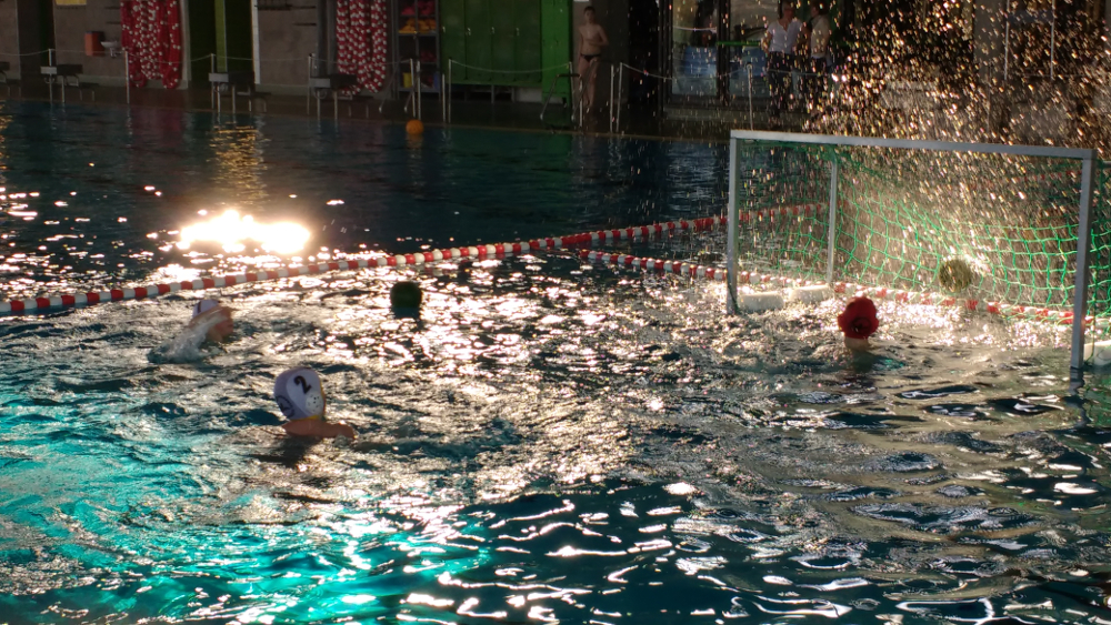U11 Wasserballer Auf Dem Vormarsch