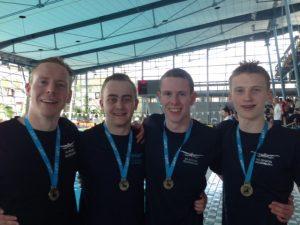 PSVer gewinnen Königsstaffel bei den Landesmeisterschaften im Schwimmen