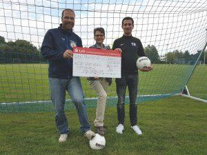 Spende für die Fussballabteilung
