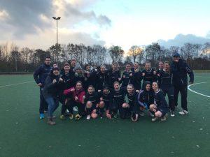 Polizei SV Damen feiern Herbstmeisterschaft