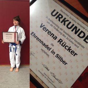 Auszeichnung für Verena Rücker