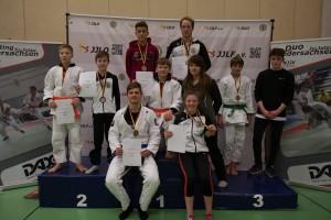 Regionalmeisterschaften Nord im Ju-Jutsu