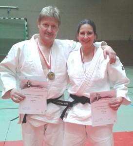 Alexandra Balvert und Thomas Uehlken gewannen Landes-Kata Meisterschaft