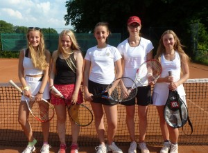 Erfolg für die Tennis-Juniorinnen A