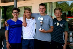 PSV B Junioren erringen Pokalsieg