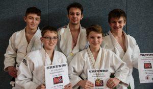 Fünf mal Gold und einmal Silber für Judoka den PSV Oldenburg