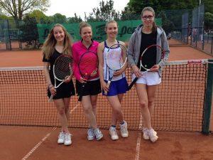 Saisonauftakt der Damen- und Herrenmannschaft am 7. Mai 2017
