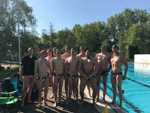 Polizei SV Wasserballer auf Meisterkurs
