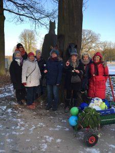 Mittwoch 28.02.2018:  Kohlfahrt PSV – Gymnastikgruppe Es war schön – aber verdammt kalt!!!