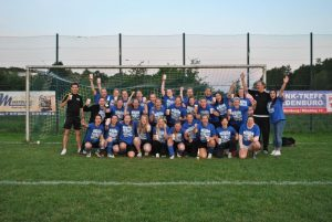 Polizei SV Damen feiern Meisterschaft und Aufstieg in die Bezirksliga