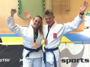 Deutsche Meisterschaften - Bronzemedaille für Sarah Kegeler und Tim Folkens
