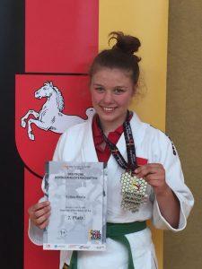Silbermedaille für Celina Brötje