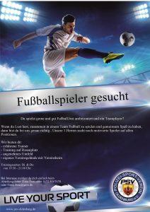 Fußballer gesucht!!