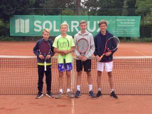 Tennis: Erfolg für die Junioren B
