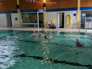 Aktivitäten der Wasserball-Jugend im Sommer