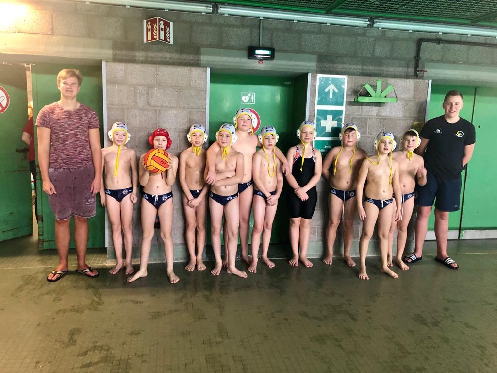 U12 Wasserballer Starten In Die Nord-West-Jugendliga
