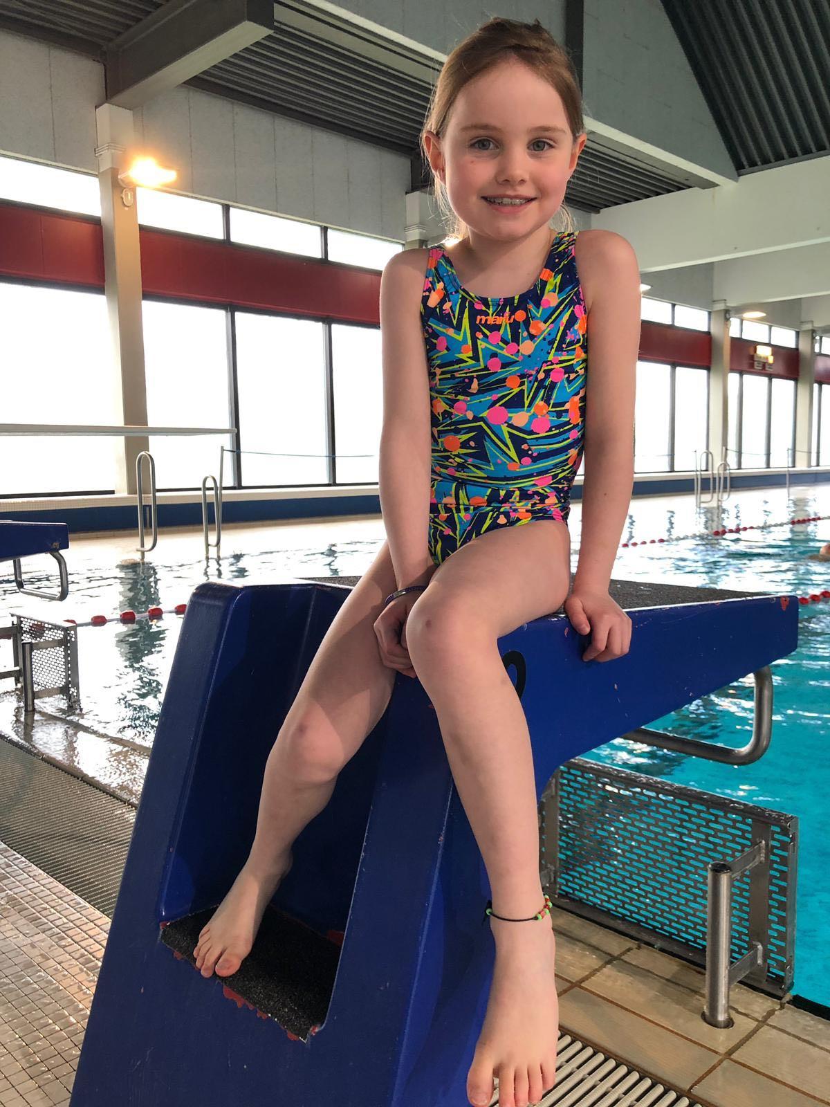 Die Jüngsten Schwimmer Kämpften In Wildeshausen Um Die Bezirkstitel
