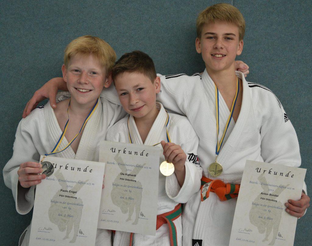 PSV Judoka räumen ab!