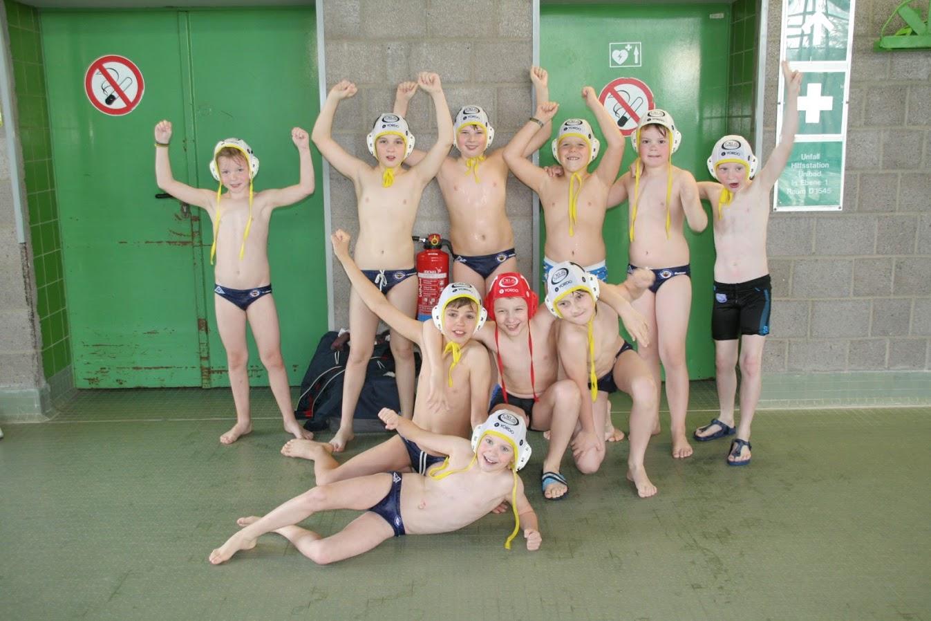 U10 Wasserballjugend Dominiert Mini-Liga