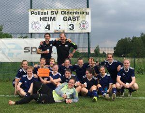 1. Damen feiern Klassenerhalt in der Bezirksliga