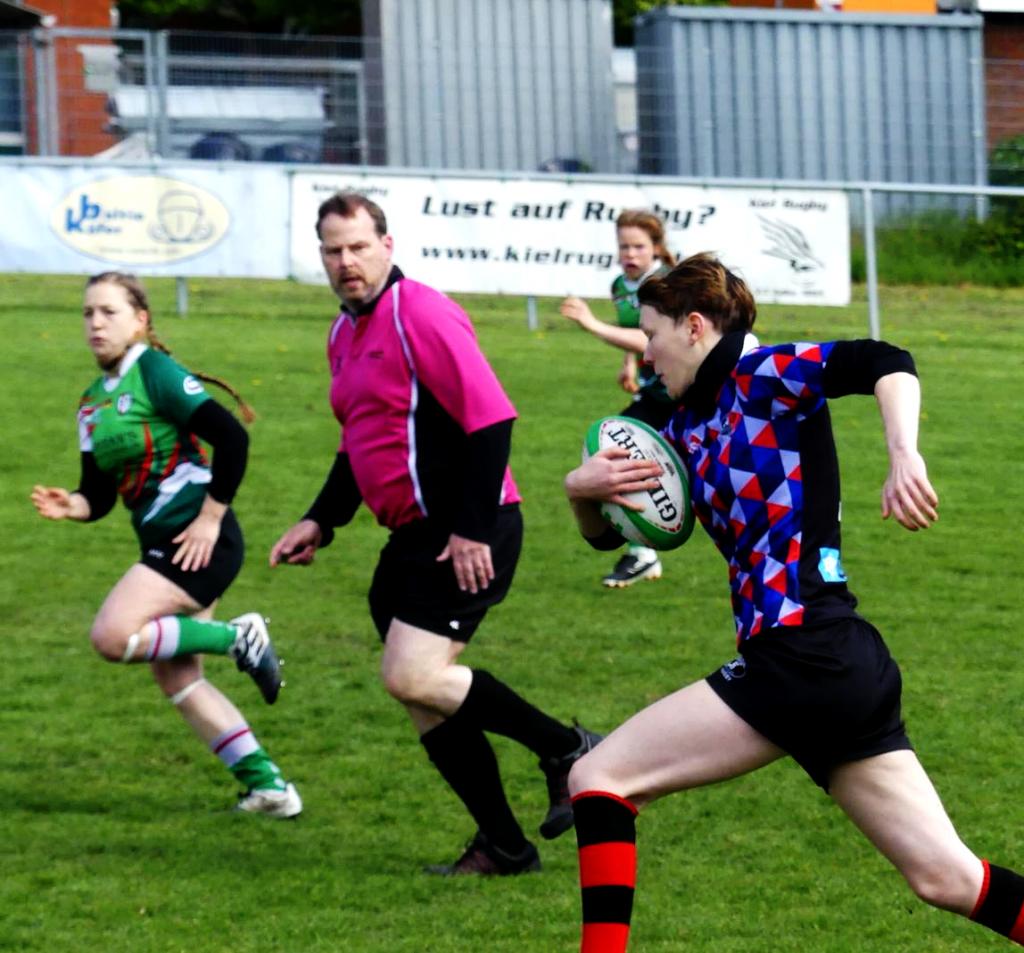 Saisonabschluss der Rugby-Damen des PSV