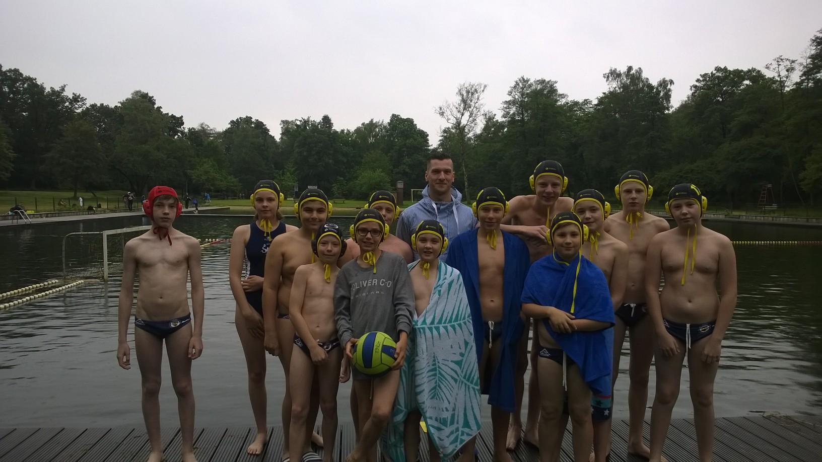 U14 Wasserballer Beenden Saison Auf Platz 5