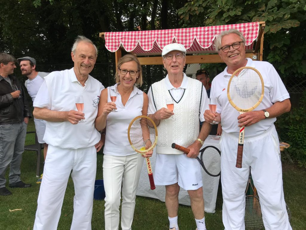 Rasentennis zum Sommerfest - 40 Jahre PSV