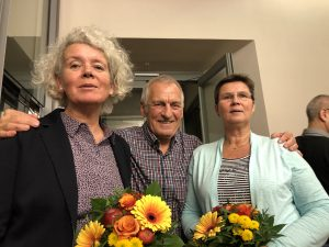 SSB-Ehrennadeln für Beate Schroeder und Heidi Schlörmann
