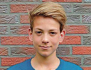 Jannis Bolles Deutscher Vizemeister im Wasserball