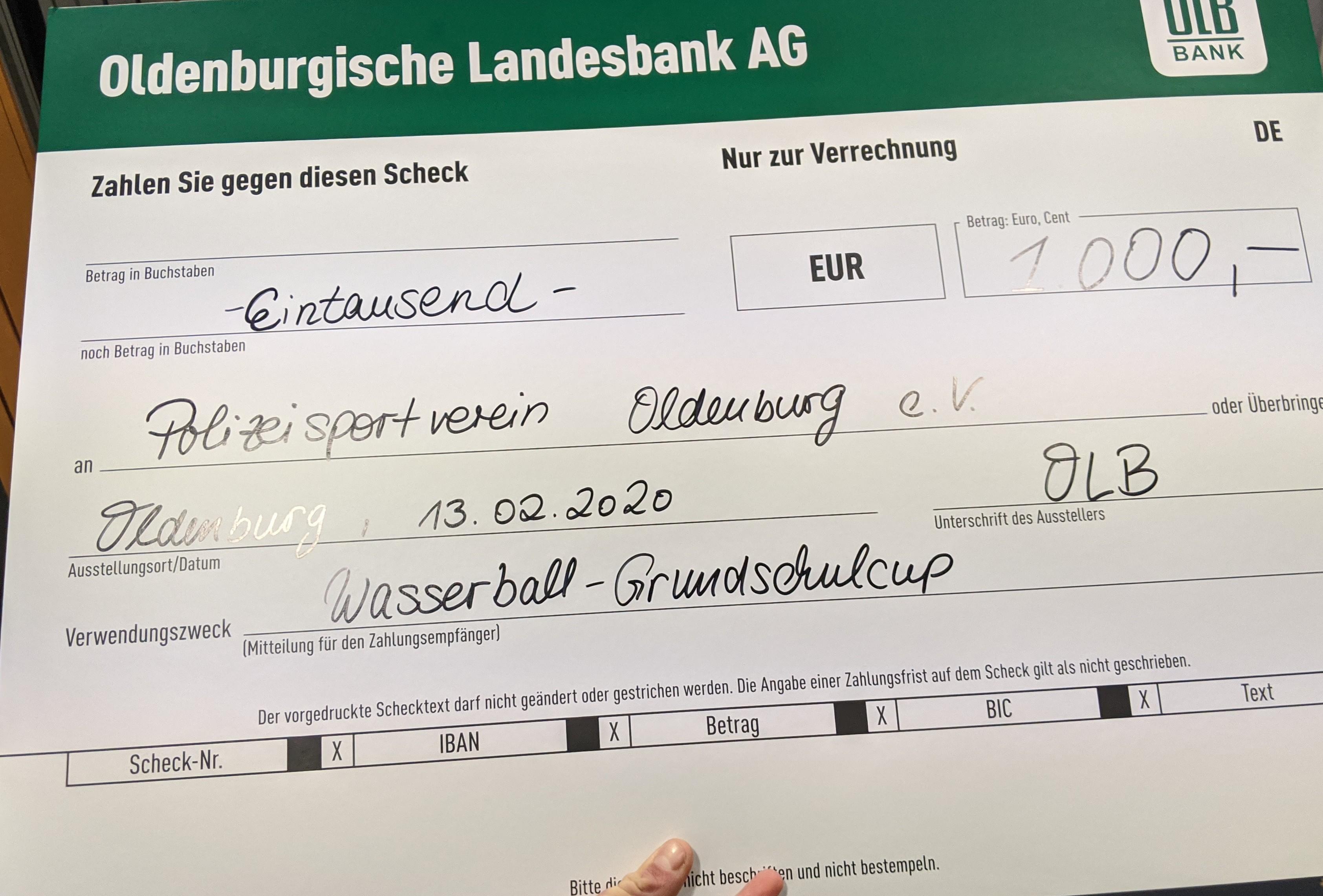 PSV Gewinnt 1000€ Für Den Grundschulcup