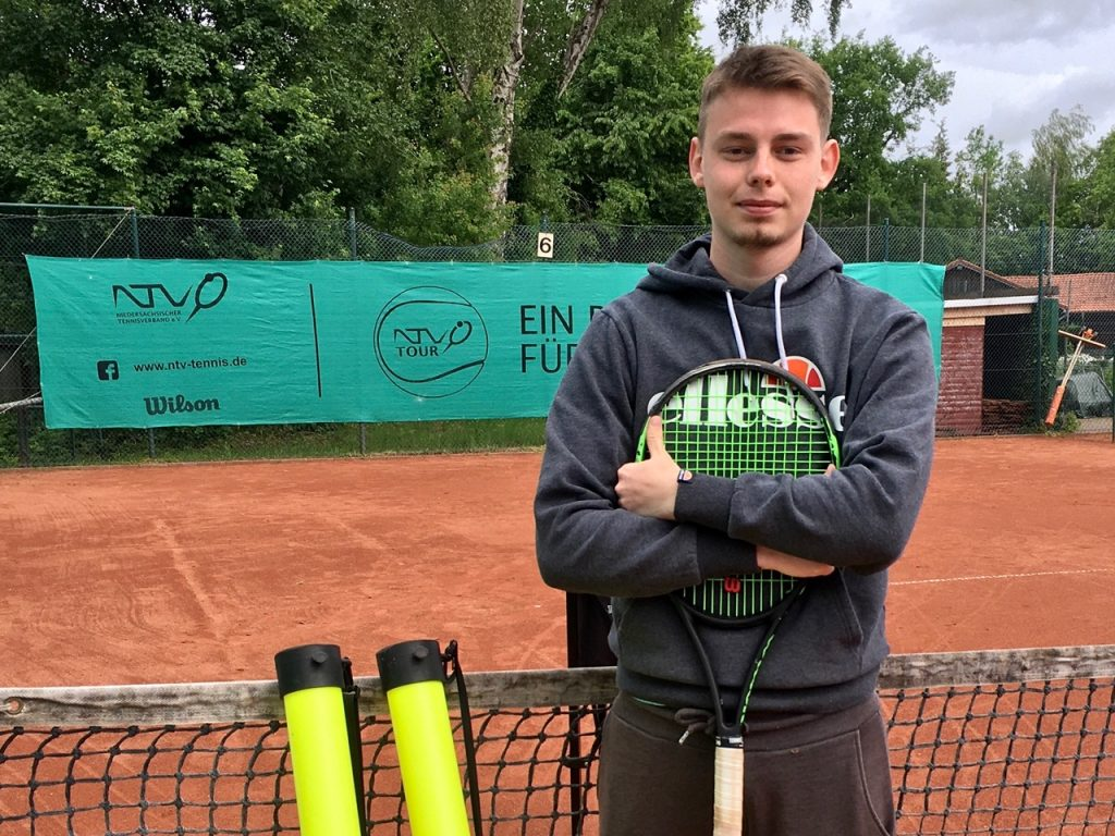 Lenny Zumbrock, der neue Tennistrainer
