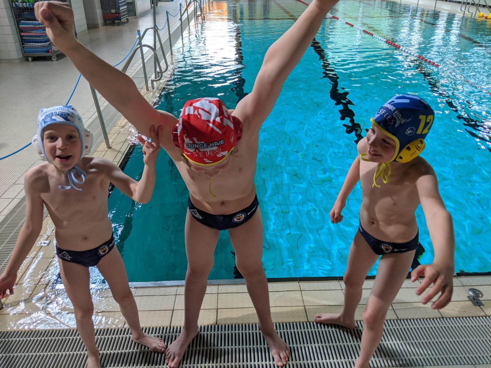 Wasserball Nimmt Trainingsbetrieb Wieder Auf