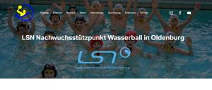 Homepage Wasserball
