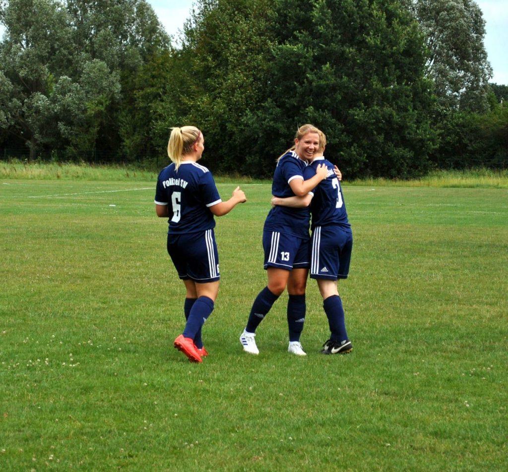 1. Damen beenden Vorbereitung mit letztem Testspielsieg beim Landesligisten Post SV