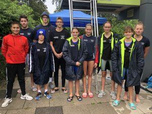 Schwimmer auf Platz 3 im Bezirk Weser-Ems